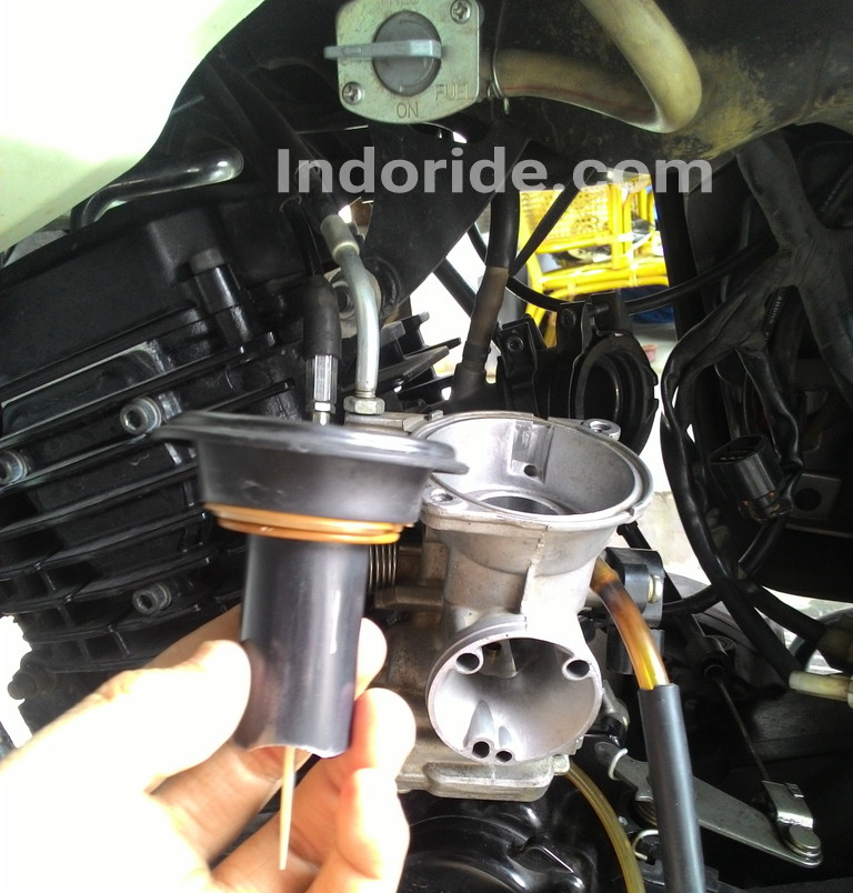 Take A Risk Bongkar Dan Bersihkan Karburator Vakum Untuk Pemula