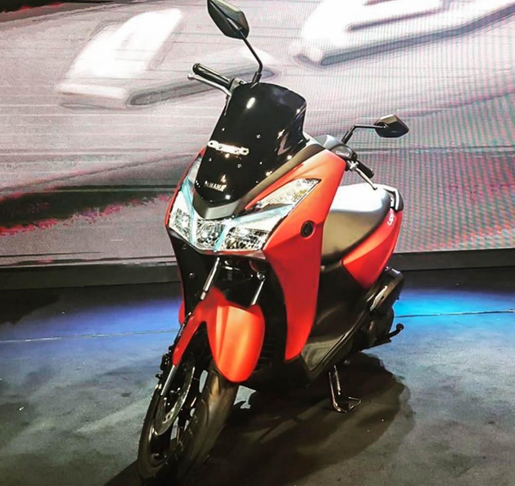 Ide 78 Modifikasi Yamaha Lexi Putih Terkeren Kempoul Motor