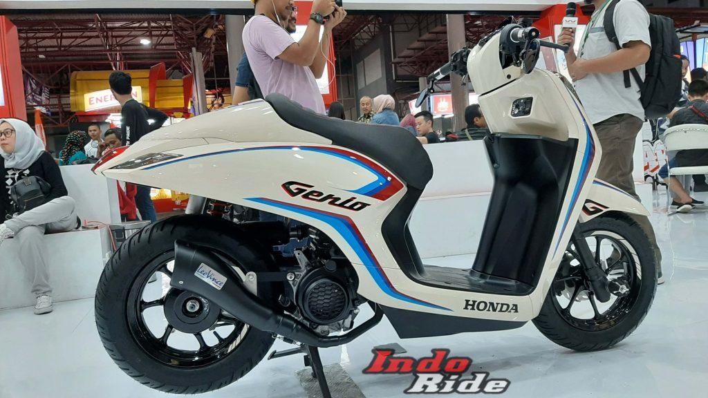 Modifikasi Honda Genio Cafe Racer Jadi Viral, Ngalahin ...